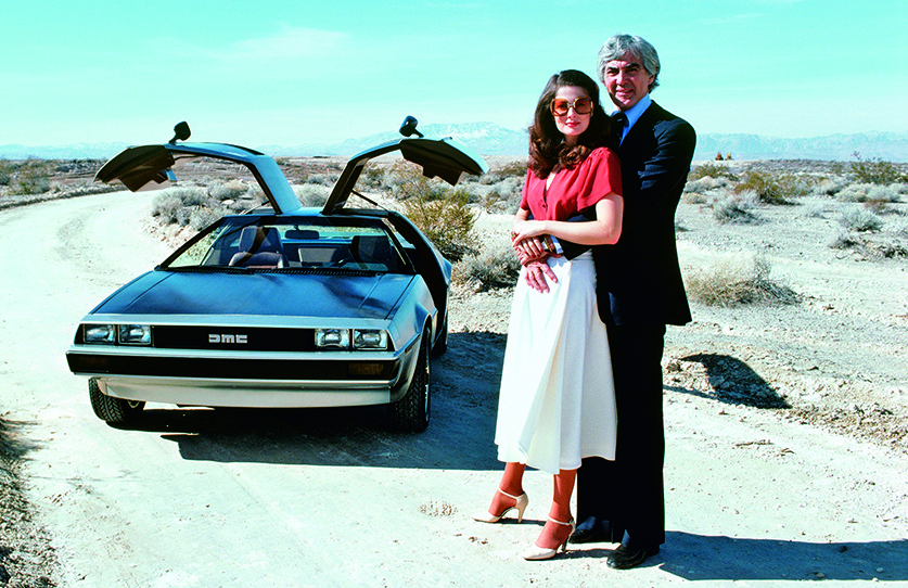The amazing true story of theDeLorean