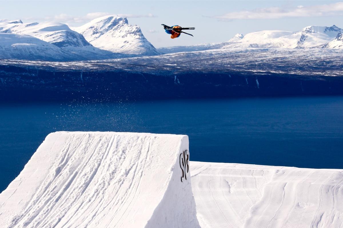 Mountain, meet fjord