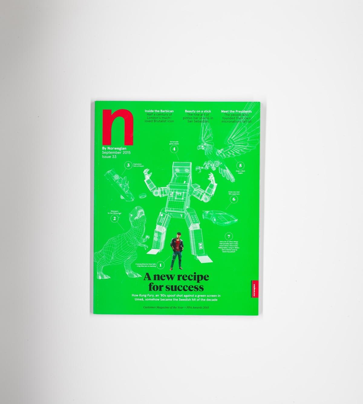 How we made: N by Norwegian, September2015