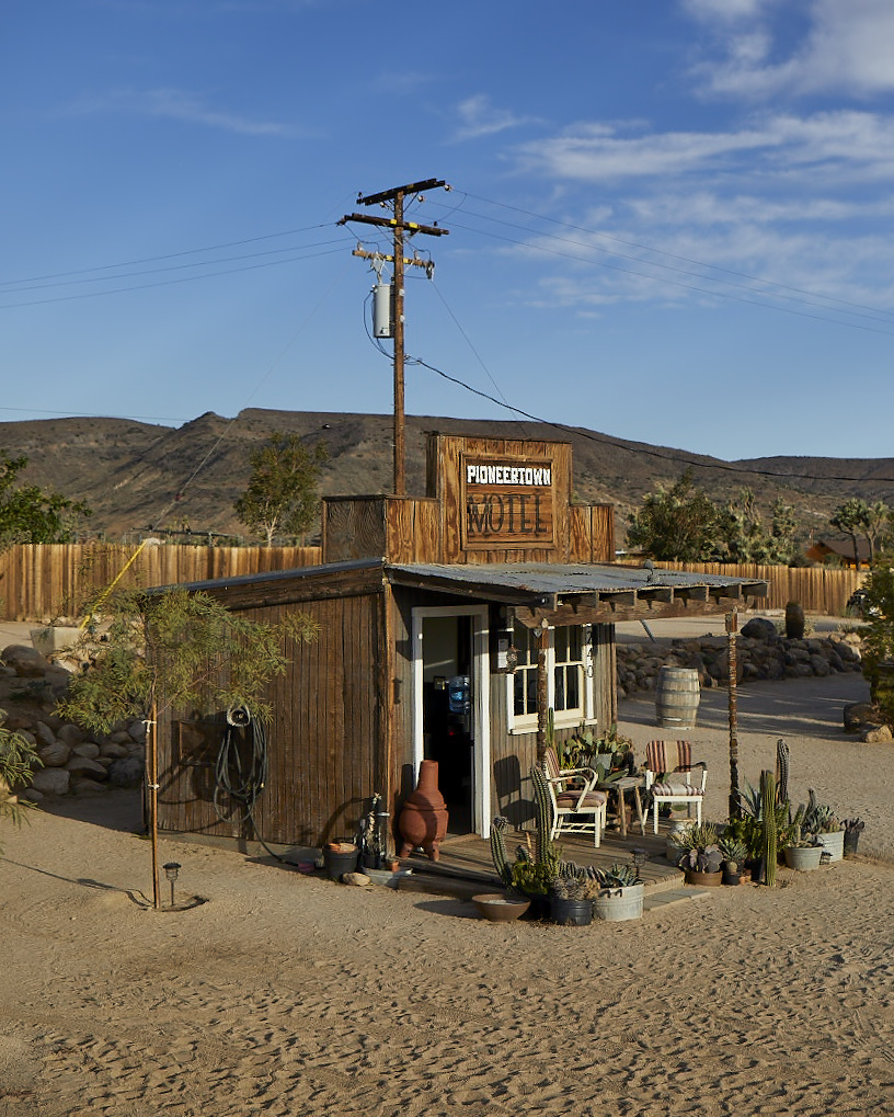 A postcard fromPioneertown