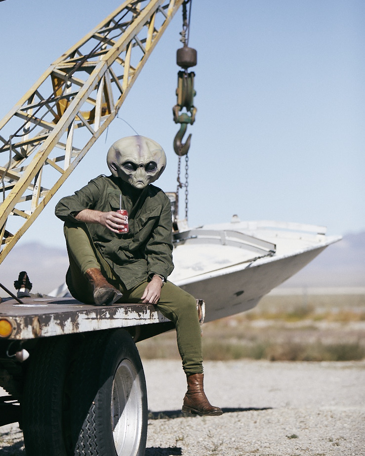 A postcard from the Extraterrestrial Highway
